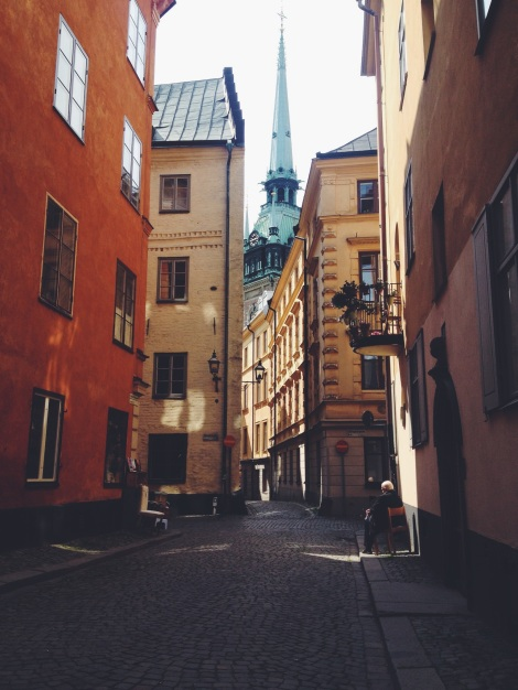 GAMLA STAN old city in Stockholm